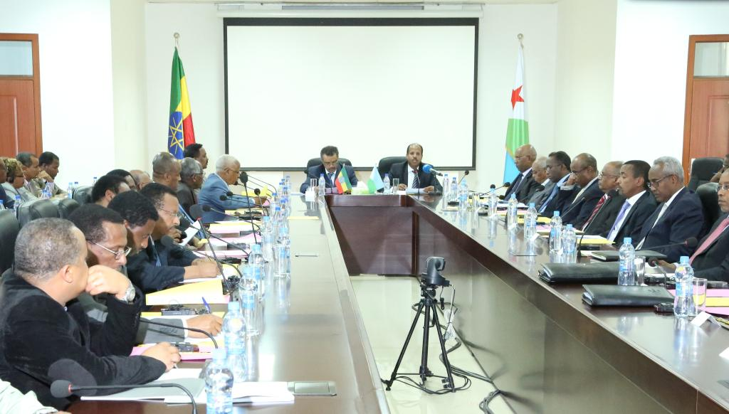 "Gibuti, ""First High Level Joint Commission Meeting""  febbraio 2015"