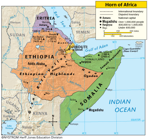 Ethiopia and djibouti accuse eritrea of destabilizing the horn of ethiopian newspaper is an important military base for many foreign countries and because of its very advantageous position has benefited in recent years gumiabroncs