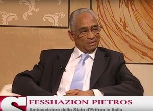 Africa Oggi, Settesera, (7 Gold) Interview with the Embassador Fesshazion Pietros